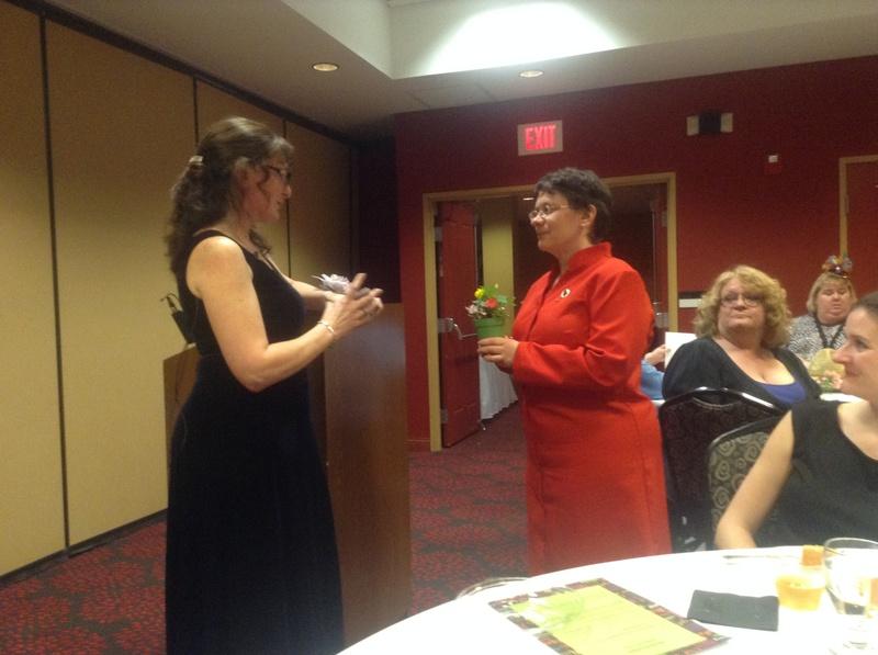 WALP 2014-15 President, Laura Braun and Barbara LeCaptain, PLS