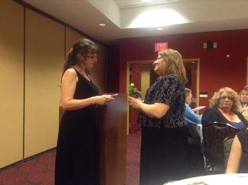WALP 2014-15 President, Laura Braun and Katy Mathes-Woldt, PLS, CAP